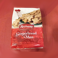 Archway Gingerbread Man Cookies
