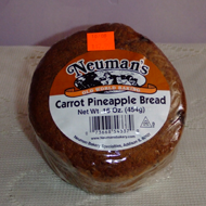 Neuman's 1 lb. Carrot Pineapple Bread